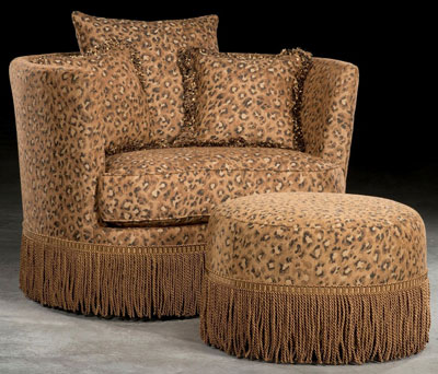 The Round Leopard Print Chair Part 1